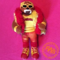 WWE Hulk Hogan Hulkamania Plush Bear