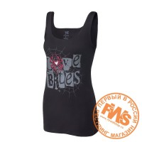 WWE AJ Lee Love Bites Tank Top  - размер L