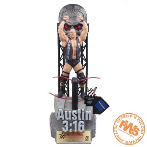 WWE Icon Series Stone Cold Steve Austin Limited Edition Resin Statue