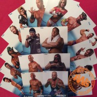 SET 1 - Набор 1 - TNA Promo Photo Card - Набор промо фото рестлеров TNA - 18 штук!