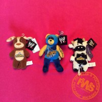 SET 22 - Набор 22 - WWE WrestleMania plush toy - Beanie Bear, Dog and Cow